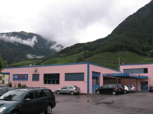 Завод PCM WILLEN SA в г. Вильнев